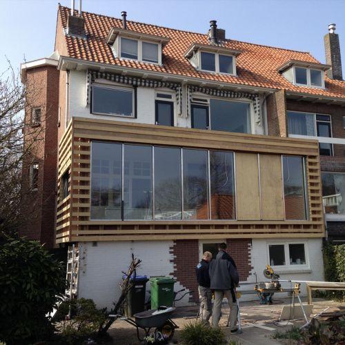 Verbouw woonhuis Grindweg Rotterdam